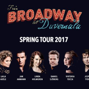 """""""Från Broadway till Duvemåla"""" spring tour confirmed"""